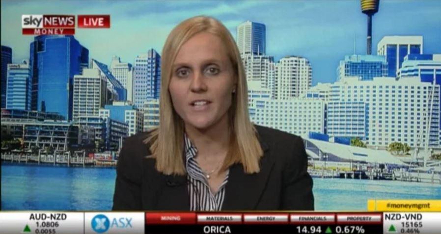 Money Management on Sky Business, Kate Golder 10.12.15